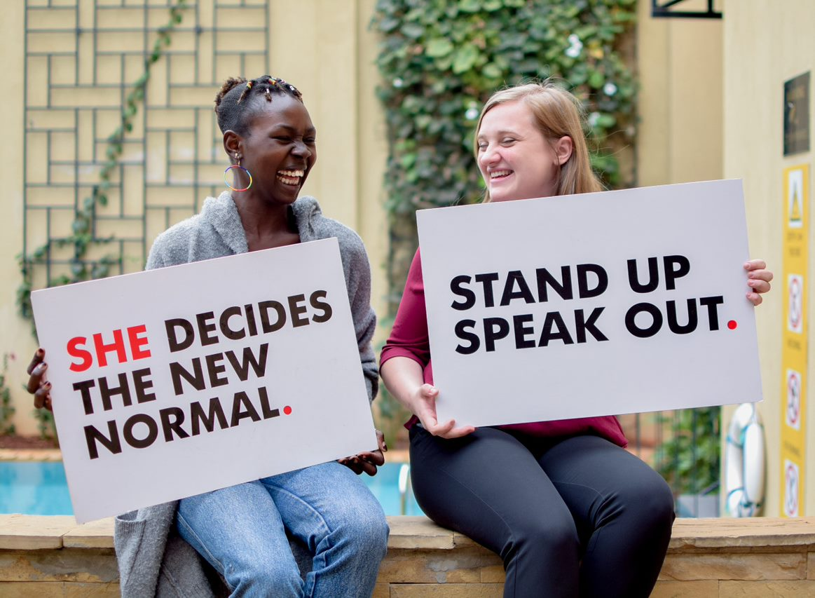 SheDecides Day New Normal