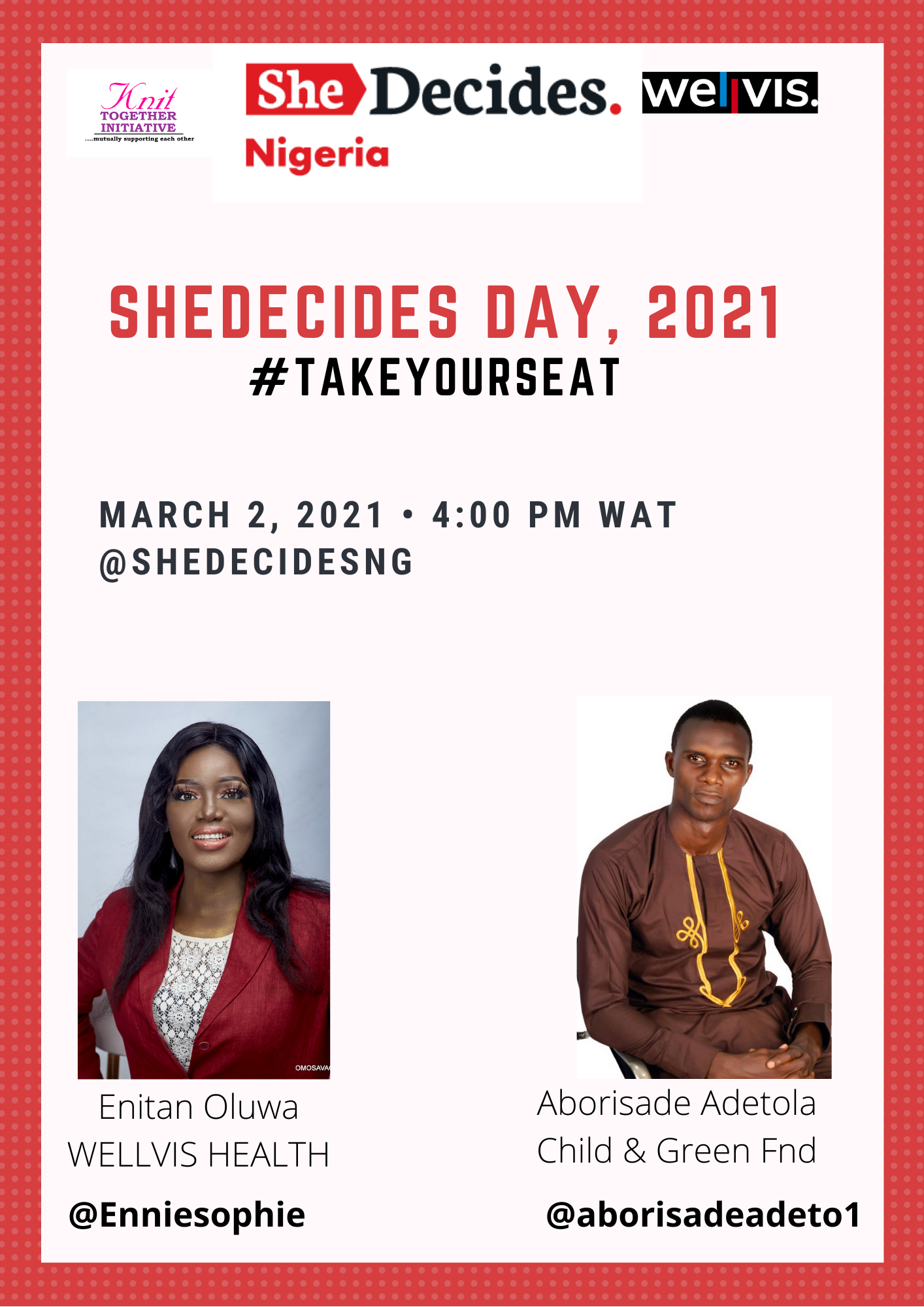 SheDecides day event photo
